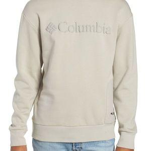 Columbia pale tan sweatshirt